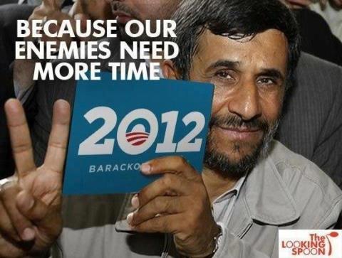 IRAN omdat Amerika's vijanden meer tijd nodig hebben