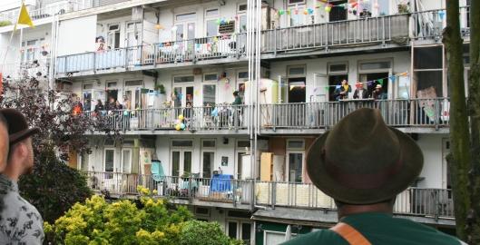 Balkons amsterdam oost