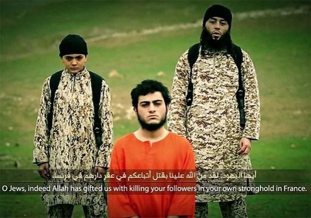 executie door 12 jarig IS-jongetje