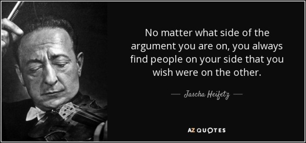 HEIFETZ QUOTE