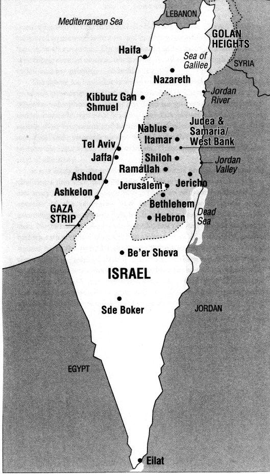 ISRAEL ZWARTWITKAARTJE001