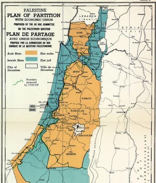 PARTITIONPLAN UN 1947