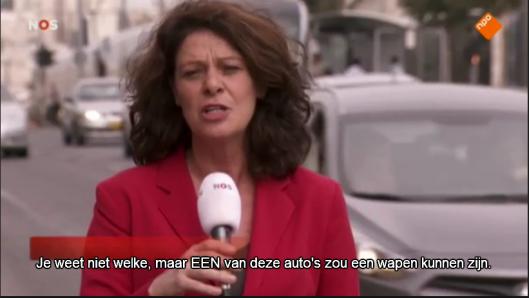 Monique van Hoogstraten autoos Jeruzalem