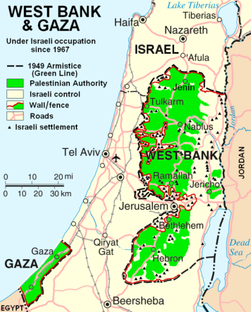 palestinian authority territorie