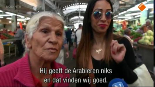 Bibi geeft de Arabieren niks