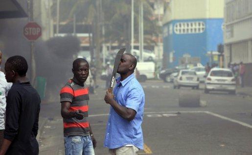 ZUID AFRIKA xenophobic attacks 2