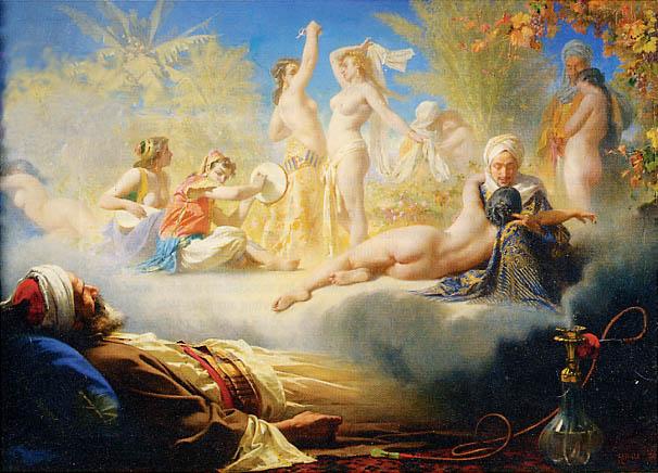 Schilderij van Achille Zo (1826-1901)