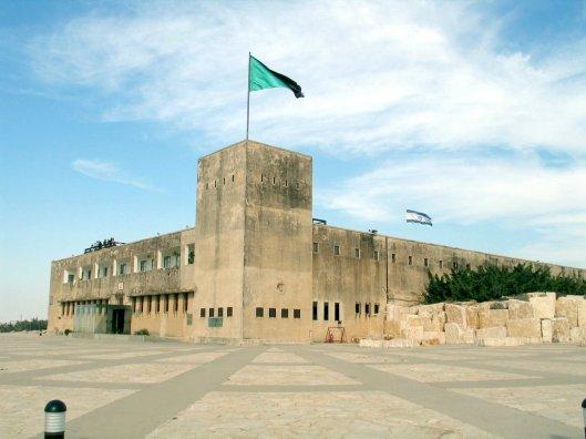Tegart fort, not in Lydda, but in Latrun