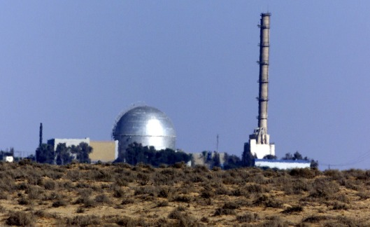 View of the Israeli nuclear facility in the Negev Dest outside Dimona August 6, 2000. Mordechai Vanunu, a former nuclear technical, spilled Israel's nuclear secrets to a British newspaper in 1986 and a short while later was abducted to Israel to stand trial. He is currently in the 13th year of an 18-year jail term. Vanunu claimed Israel had built 200 atomic bombs at the Dimona site. Today, August 6, is the 55th anniversary of the atomic bombing of Hiroshima in Japan where some 200,000 people were killed, leading to the end of World War II. Israelis plan a demonstration today calling for a nuclear-free Middle East, the release of Vanunu from jail and the closing of the Dimona facility. - RTXJW87