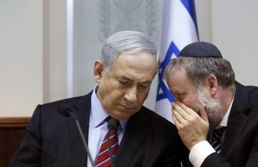 Dedecker Netanyahu smiespel