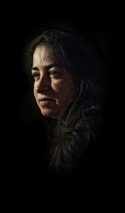 Een filosofische en mysterieuze diepte-foto van Hassnae Bouazza