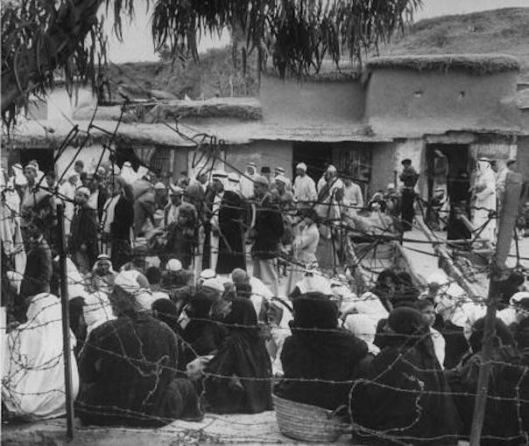 Refugees in Gaza in 1948 or 1949