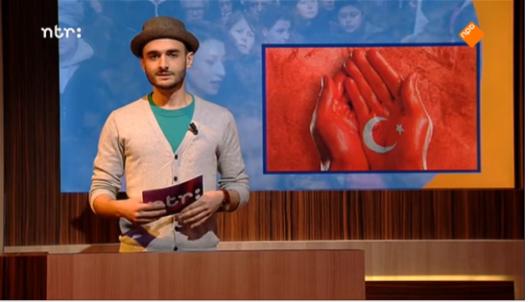 Farbod Moghadam: moraal-komiek met hoedje