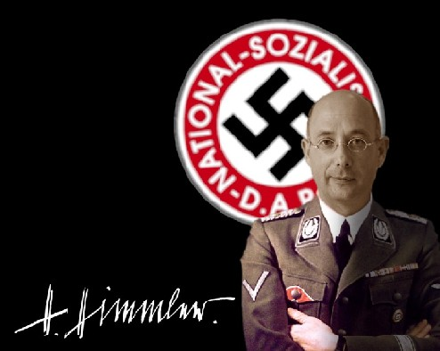 RIEMEN IN HIMMLER-UNIFORM