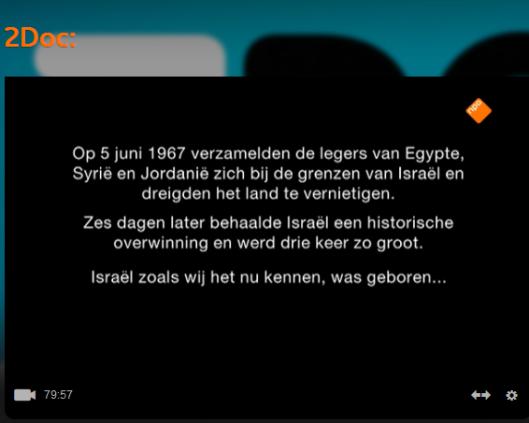 Jaja! Drie keer zo groot! En twee-en-en-halve keer komt voor rekening van de vruchtbare Sinaïwoestijn die Israël dus móést bezetten omdat Egypte geen vredesverdrag wilde sluiten en de Israëli's geen zin hadden om weer ten koste van veel verliezen die Sinai te moeten veroveren.