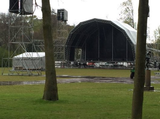 Oosterpark podiumtent