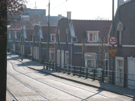 Huisjes van burgerlijk fatsoen in de Haagse Schilderswijk