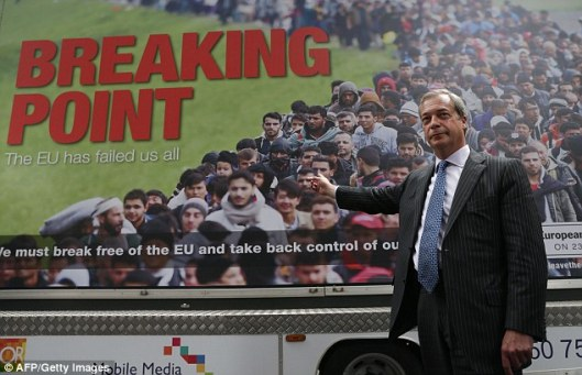 BREXIT BREAKING POINT FARAGE