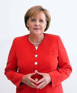 Die Heilige Frau Merkel