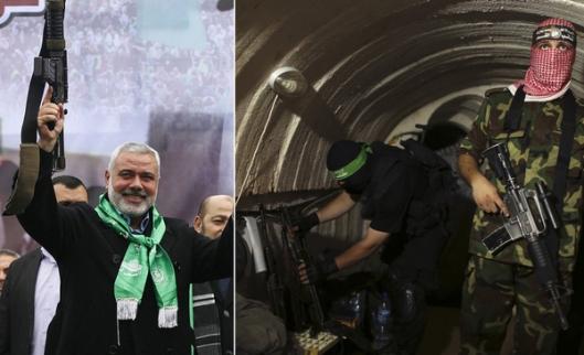 hamas-haniyeh-tunnels