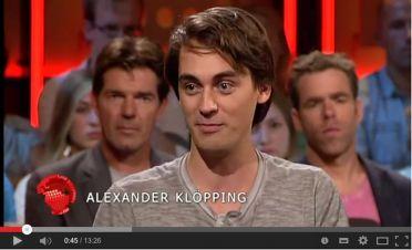 Alexander Klopping, uitvindend oprichter van Blendle