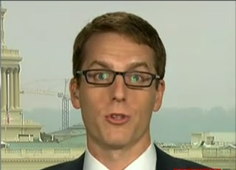 Mannenhoogverader David Fahrenthold van de Washington Post