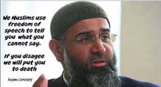 choudary-freedom-of-speech