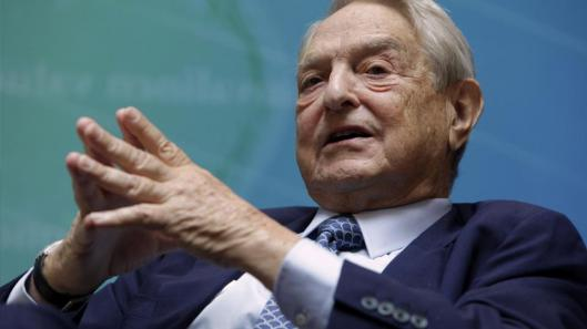 George Soros, de gedroomde leider van onderdrukte diversiteitsjeugd overal ter wereld
