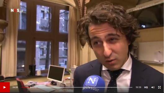 Jesse Klaver: die Wilders is héél erg ziek