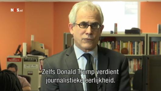 De integere journalist David Corn - ondervraagd door de integere journalsit Twan Huys - geeft een integer antwoord