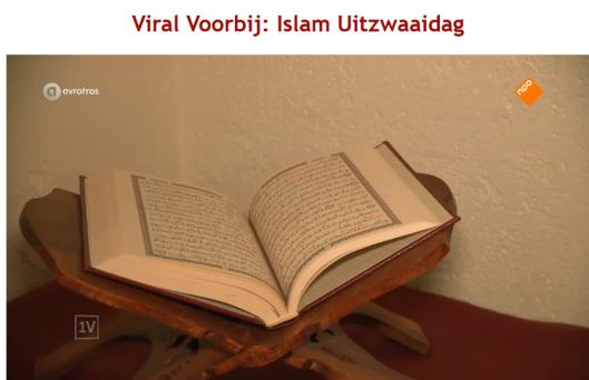 De koran ligt opengeslagen uitgestald in de huiskamer van Islam Siraj. zou ze echt niet weten hoeveel oproepen tot haat en moord van Allah zelf erin staan?