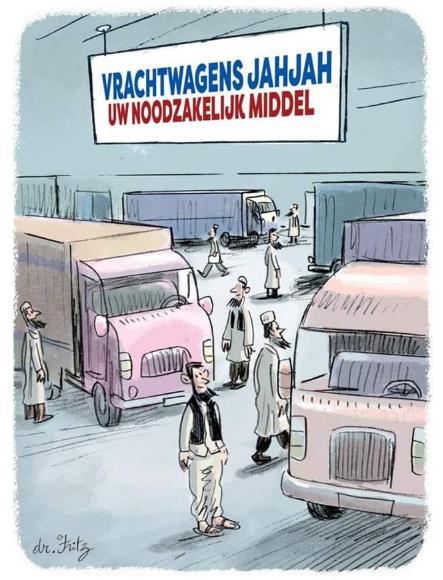 jahjah-cartoon-vrachtwagens