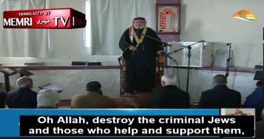 Preek van een Hamas parlementslid, uitgezonden op de Hamas televisiezender op 7 januari 2017.