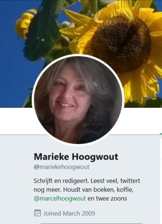 HOOGWOUT MARIEKE