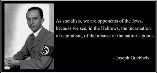 GOEBBELS SOCIALIST