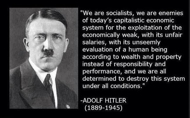 HITLER SOCIALIST 2